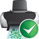 Printer Accept - icon gratuit #190345
