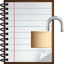 Notes Unlock - icon gratuit #190495