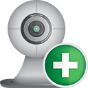 Webcam Add - icon #190555 gratis