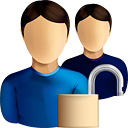 Users Unlock - icon gratuit #190585