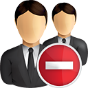 Business Users Remove - бесплатный icon #190855