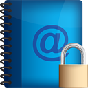 Address Book Lock - icon gratuit #190985