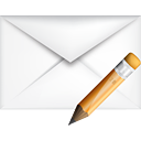 Edit de courrier - icon gratuit #191075