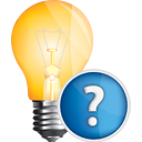 Light Bulb Help - icon gratuit #191125