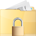 Folder Lock - icon #191305 gratis