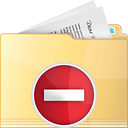 Folder Remove - icon gratuit #191315