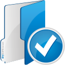 Folder Accept - icon #192075 gratis