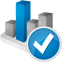 Chart Accept - icon gratuit #192175