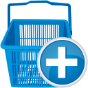 Shopping Cart Add - Kostenloses icon #192525