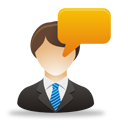 Business User Comment - Free icon #193265