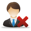 Remove Business User - Free icon #193275