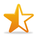 Star Half Full - icon gratuit #193825