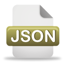 Fichier JSON - icon gratuit #193835