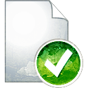 Page Accept - icon gratuit #194235