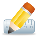 Ruler Pencil - Kostenloses icon #194255