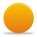 Orange Button - Free icon #194335