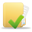 Folder Accept - icon gratuit #194915