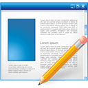 Application Edit - icon #195185 gratis