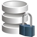 Database Lock - icon gratuit #195285