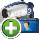 Digital Camcorder Add - Kostenloses icon #195305