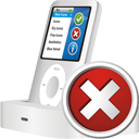 Ipod Delete - icon gratuit #195445