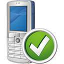 Mobile Phone Accept - Kostenloses icon #195485