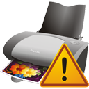 Printer Warning - icon gratuit #195595