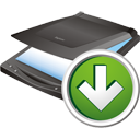 Scanner Down - icon #195655 gratis
