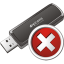Usb Stick Delete - icon gratuit #195705