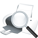 Printer Search - icon gratuit #196045