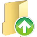 Folder Up - icon gratuit #196105