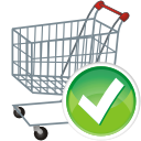 Shopping Cart Accept - icon #196115 gratis