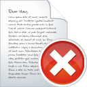 Blog Post Delete - icon gratuit #196305
