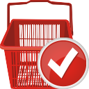 Shopping Cart Accept - icon gratuit #196695