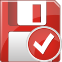 Floppy Disc Accept - icon gratuit #197025