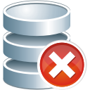 Database Remove - icon gratuit #197545