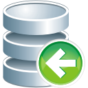Database Previous - icon gratuit #197555