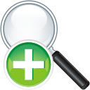 Search Add - icon #197565 gratis