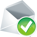 Mail Accept - icon gratuit #197625