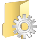 Folder Process - icon gratuit #197645