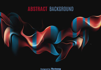 Abstract shape background - vector gratuit #199145
