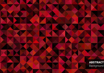 Free Abstract Triangle Vector - Kostenloses vector #199205