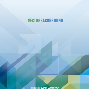 Abstract geometric background - vector gratuit #199625