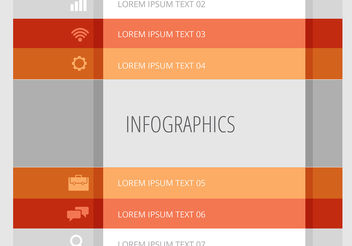 Infographic Vector Design - бесплатный vector #199925