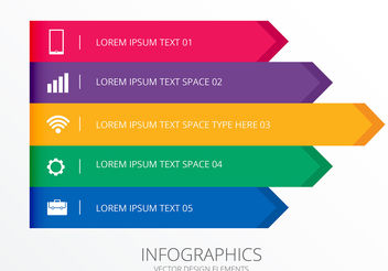 Infographic Banners and Header Set Vectors - vector gratuit #199945