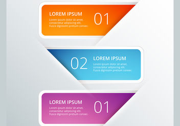 Infographic vector design set - vector gratuit #199955