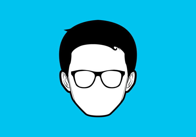 Simple Geek Vector - Free vector #199985