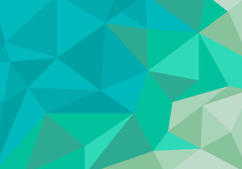 Unique Polygon Background Vector - vector gratuit #200005