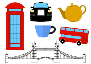 United Kingdom Icons - vector #200255 gratis