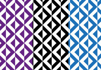 Free Seamless Decorative Pattern Vector - Free vector #200405